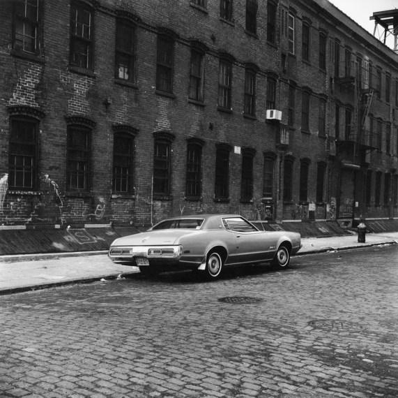 Parked Car, Brooklyn , 1976, gelatin-silver print