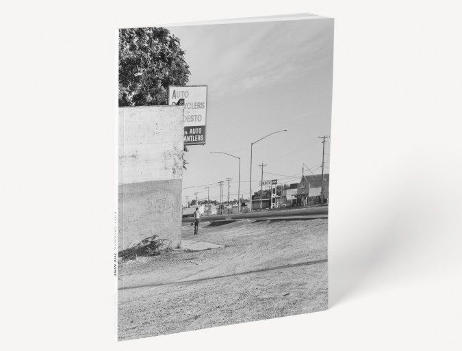 Book of black and white photographs