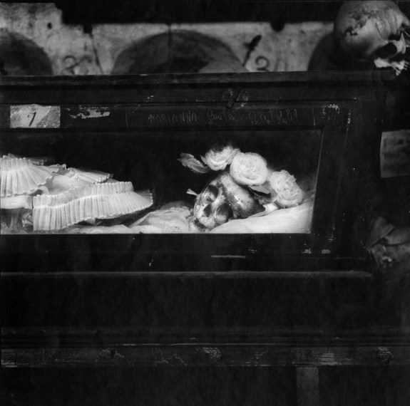 Palermo Catacombs #2, 1963, gelatin-silver print