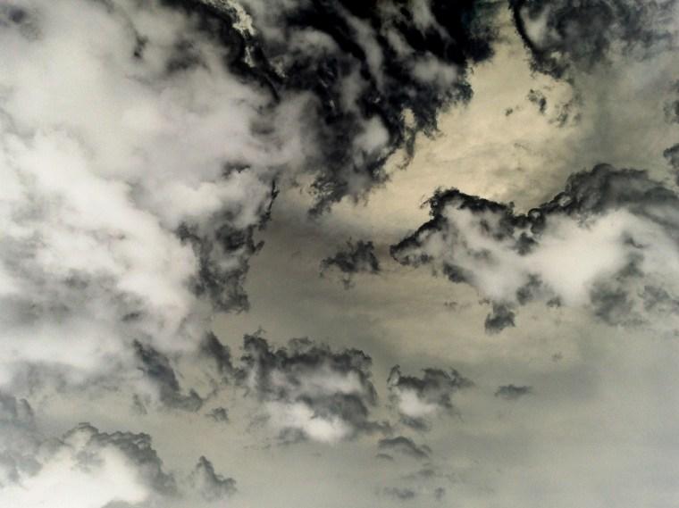 Clouds, June 5, 2014, 12:17pm, France, pigment print
