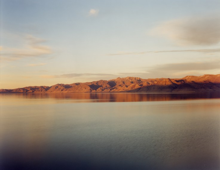 Pyramid Lake (Orange), 1997, pigment print