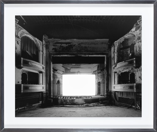 Hiroshi Sugimoto, Everett Square Theater, Boston, 2015