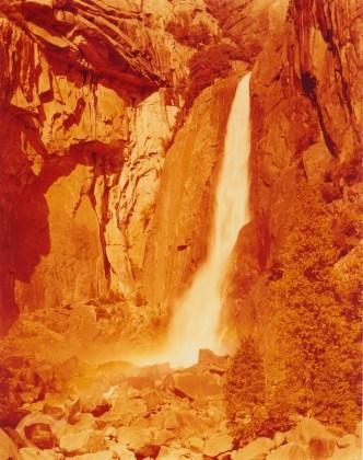 David Benjamin Sherry, Lower Yosemite Falls, 2013, Traditional color darkroom photograph