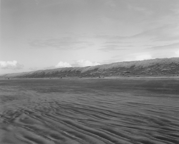 Low tide. Clatsop Beach, Oregon, 1992, gelatin-silver print