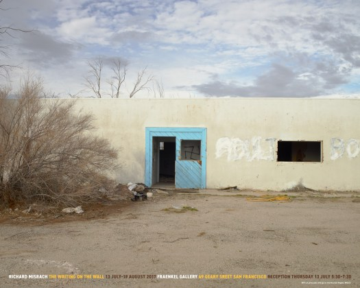 Richard Misrach: The Writing on the Wall