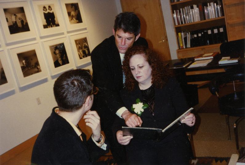 Jeffrey Peabody, Jeffrey Fraenkel, and Nan Goldin, 1999