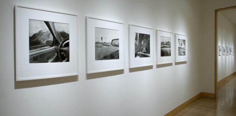 Installation view Lee Friedlander: America by Car, 2008