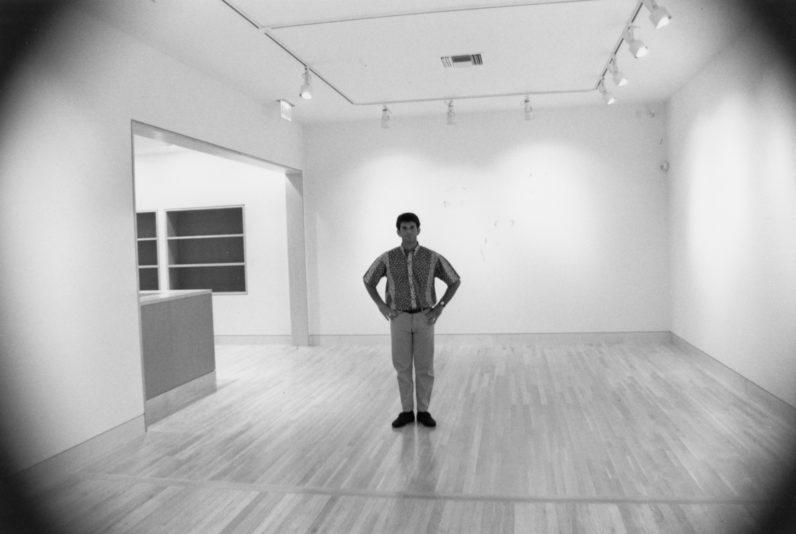 Jeffrey Fraenkel standing in our new gallery