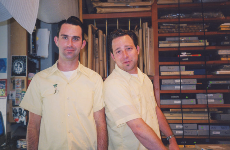 Matthew Yeager and Ken Clanton joined the gallery's staff in 2000