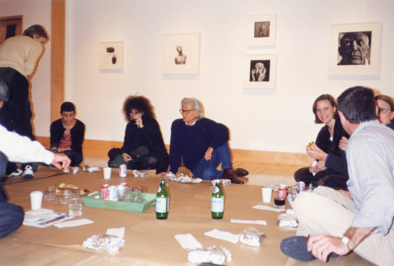 Gallery lunch for Richard Avedon: Early Portraits