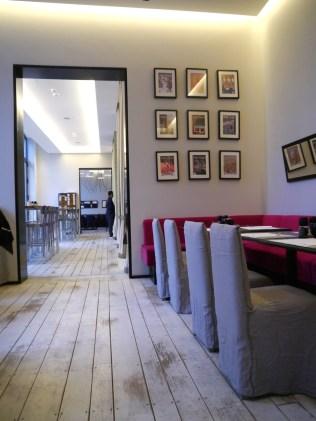 Atelier F - schickes Restaurant mitten in der Hamburger Innenstadt
