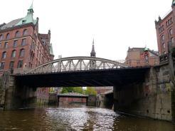 Brücken in der Speicherstadt
