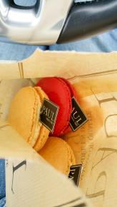 Some nice BIG macaroons for the road home..