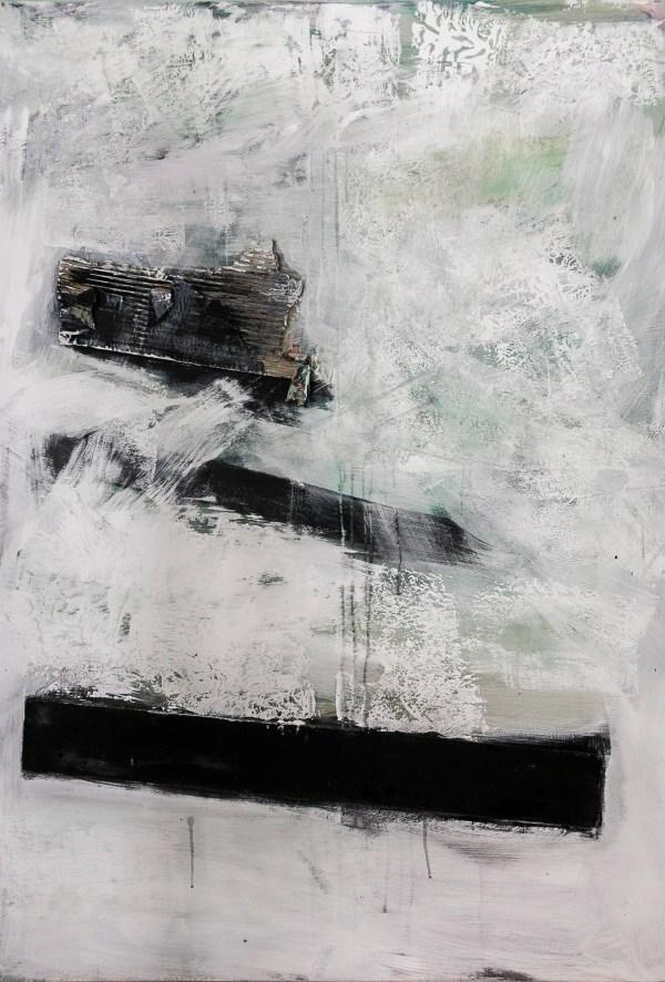 Anita Owsianna, Poland, Strikes, 2016, 140x100 cm, collage on canvas, exhibit&buy