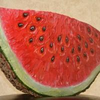 Liudmyla Tereshchuk, Piece of Watermelon, 2019