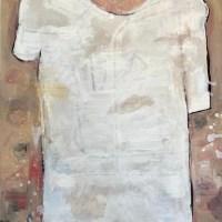 Ibrahim el laham, White Tee, 2020