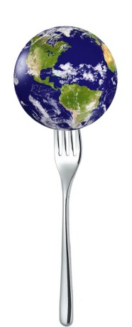 earth-on-fork