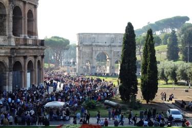 Rzym_Koloseum i Łuk Konstantyna