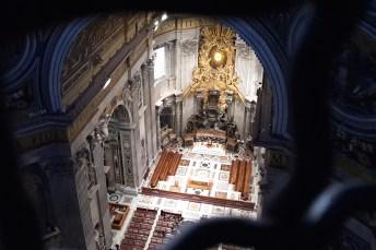 Rzym_balkon w Kopule Bazyliki św. Piotra w Watykanie 002