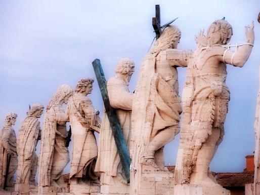 Rzym_na dachu Bazyliki św. Piotra w Watykanie 004
