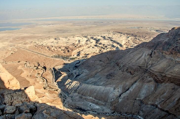 Izrael-zwiedzanie twierdzy Masada 009
