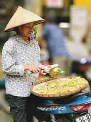 Wietnam jedzenie na ulicach Hanoi-032