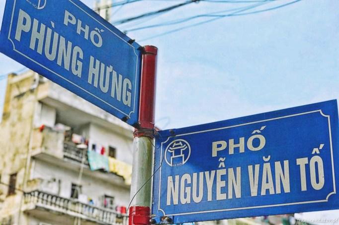 Wietnam ulica pociągowa Hanoi train street 015