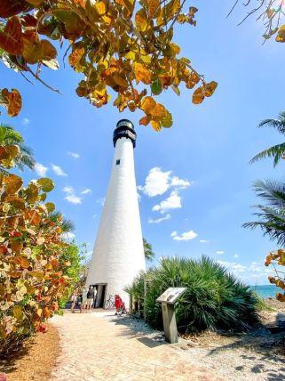 USA-stan Floryda-Key Biscayne-latarnia morska 01