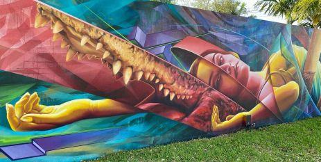 street art atrakcje zwiedzanie co warto zobaczyć w Miami dzielnica graffiti Wynwood 003