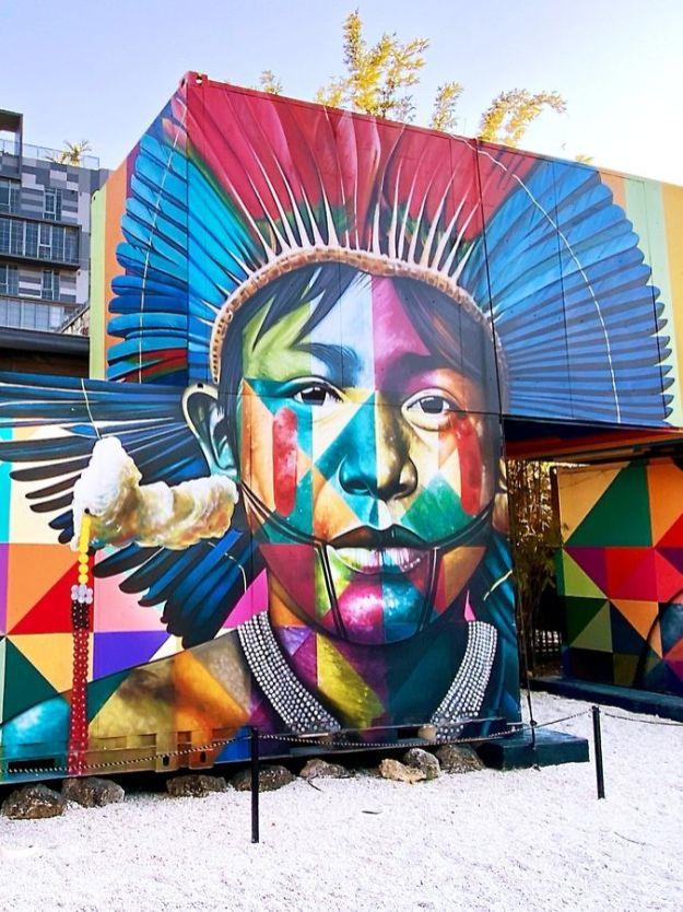 street art atrakcje zwiedzanie co warto zobaczyć w Miami dzielnica graffiti Wynwood 05