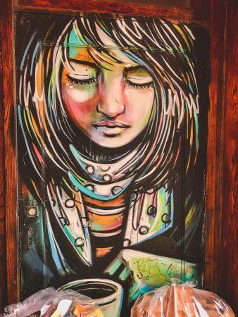 zwiedzamy Nowy Jork street art NYC 011