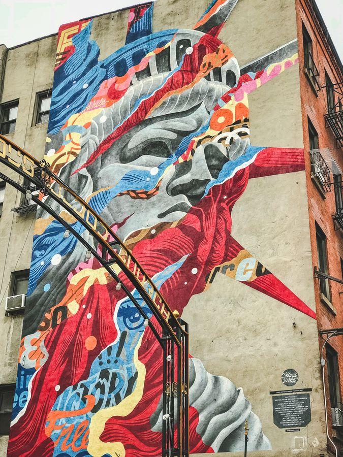 zwiedzamy Nowy Jork street art NYC 014