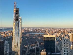 widok na Central Park