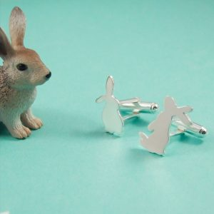 Bunny Cufflinks Set 2 4