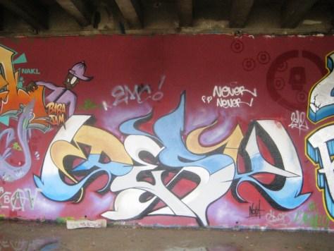 BABA JAM - graffiti - Besancon - nov 2012 Desu
