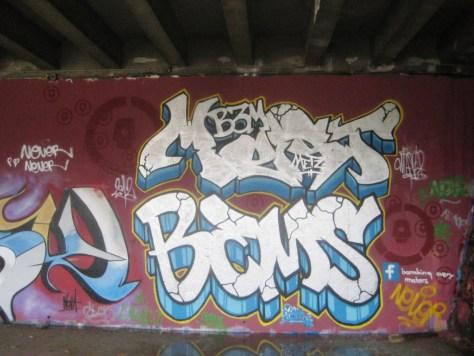 BABA JAM - graffiti - Besancon - nov 2012 Mest - Bems