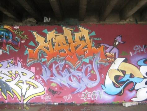 BABA JAM - graffiti - Besancon - nov 2012 Nakl