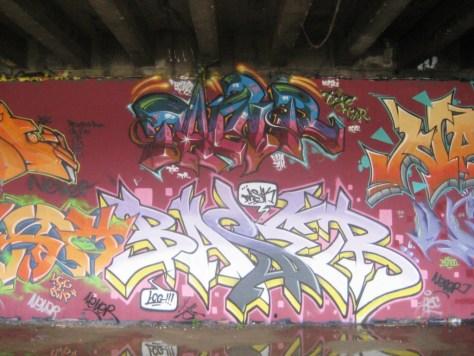 BABA JAM - graffiti - Besancon - nov 2012 Tamr - Basik