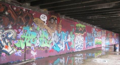BABA JAM - graffiti - Besancon - nov 2012