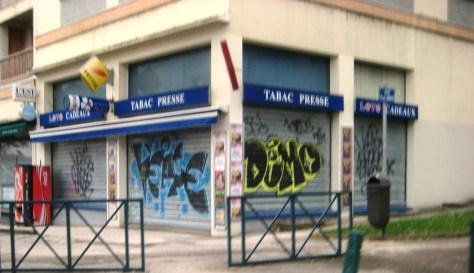 besancon 10.12.12 Veaze - Demo - Graffiti