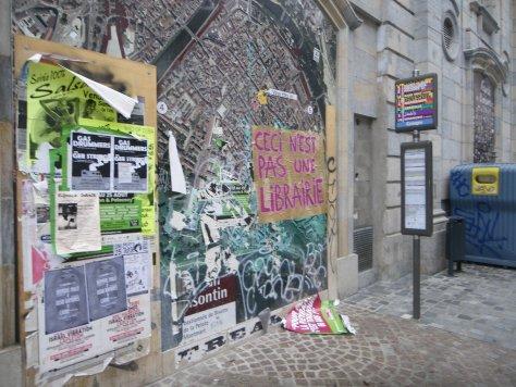 ceci n'est pas une librairie, affiche, besancon, sept2013