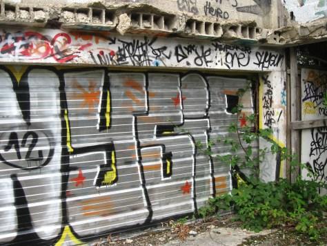 graffiti Rennes Aout 2012 YSIR