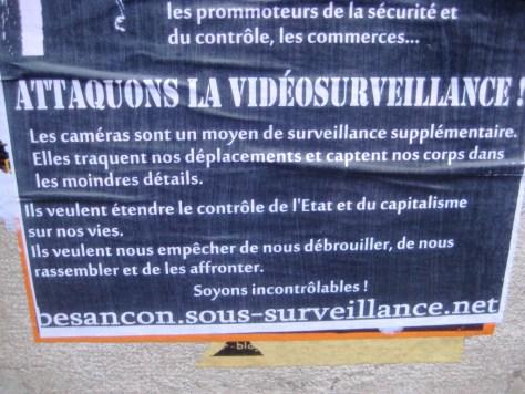 attaquons la video surveillance - affiche - besancon - dec 2013 (2)