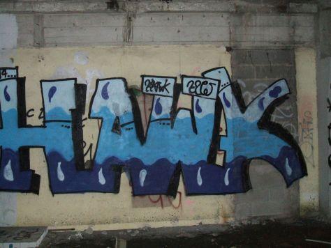Hawk - graffiti - strasbourg