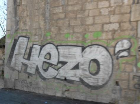 hezo - graffiti -besancon 2014