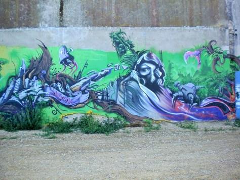 port de peche - lorient - graffiti - aout 2014