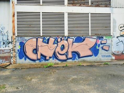septembre 2014 CHEK - graffiti - Besancon
