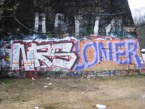NRS, Oner - graffiti - besancon 2014 (1)