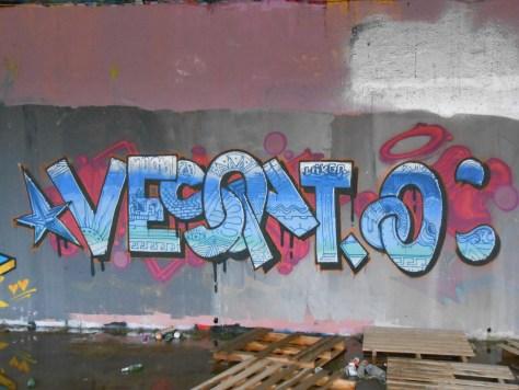 janvier 2015 - graffiti - besancon - VESONTIO (2)