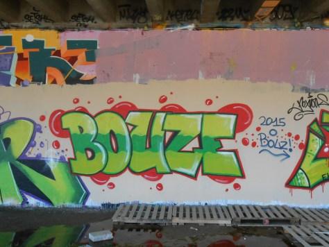 Bouze - graffiti besancon mars 2015